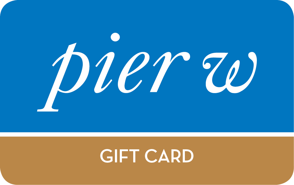 Purchase Pier W gift cards